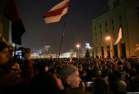 Minsk Church was closed during opposition march